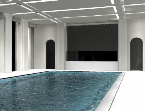 Pool house, Rye