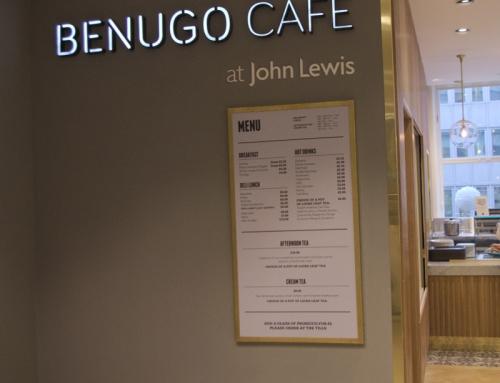 Benugo Cafe @ JL Oxford Street